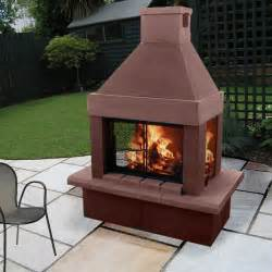 mirage outdoor fireplace see thru outdoor wood burning fireplace by mirage