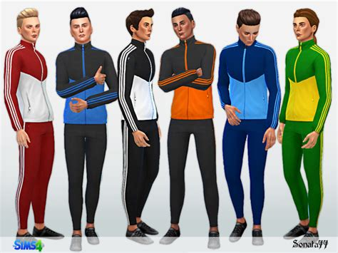 tsr sims 4 clothes sports sport 187 sims 4 updates 187 best ts4 cc downloads