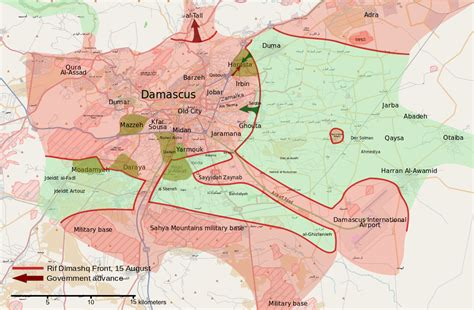 october 2012 mapping worlds rif dimashq offensive august october 2012 wikipedia