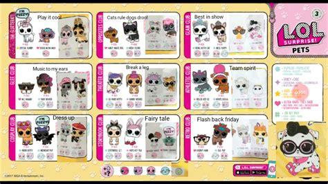 Sold Out Lol Pet Series Wave 2 1 lol pets wave 2 checklist