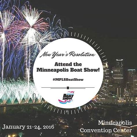 new year 2016 show 2016 minneapolis boat show ticket giveaway thrifty