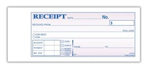 free printable receipts rediform rent moneyrent receipt book carbonless 3 part 50 stbk blank