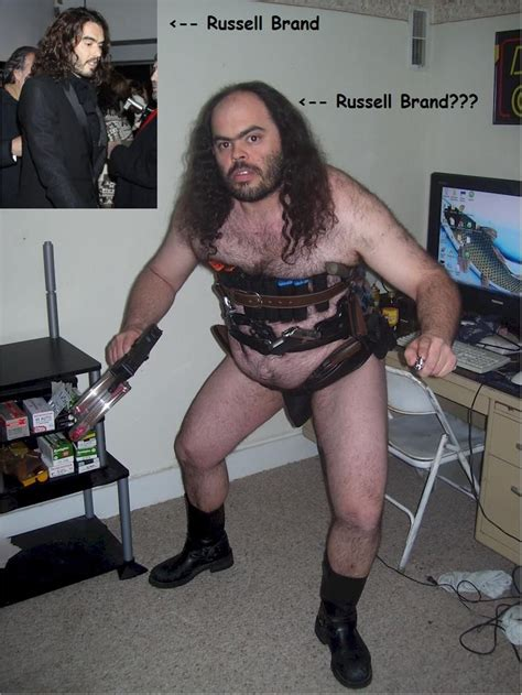 Hairy Men Meme - fat hairy man in a speedo with guns and guitar hero