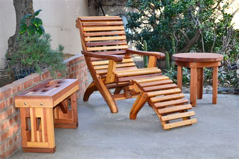 outdoor wood furniture outdoor furniture with pallets