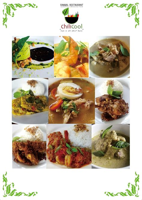 gambar makanan nusantara gambar makanan