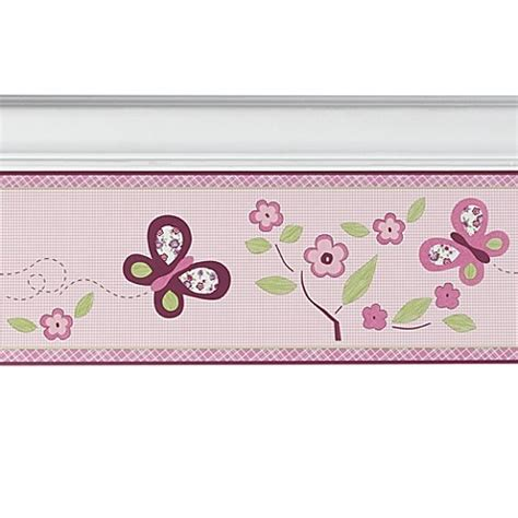 Cocalo Baby Sugar Plum Wall Border Bed Bath Beyond Cocalo Sugar Plum Bedding
