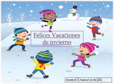 imagenes de vacaciones de invierno graciosas felices vacaciones de invierno