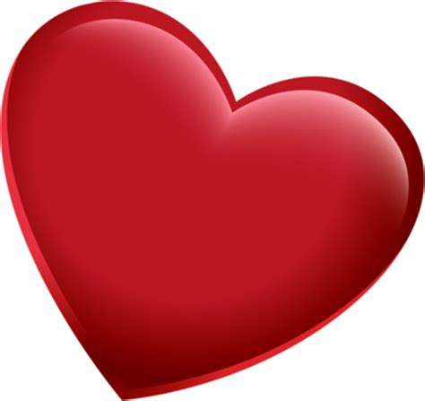 3d red heart png pic png mart