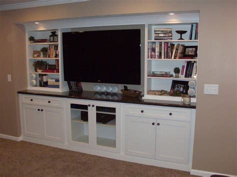 using ikea kitchen cabinets for entertainment center white cabinets entertainment center shaker style