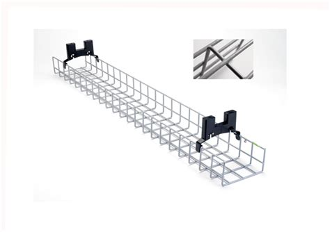 Desk Cable Management Tray by 1 6m Coated Desk Basket Tray Ncdbt16 163 59 99