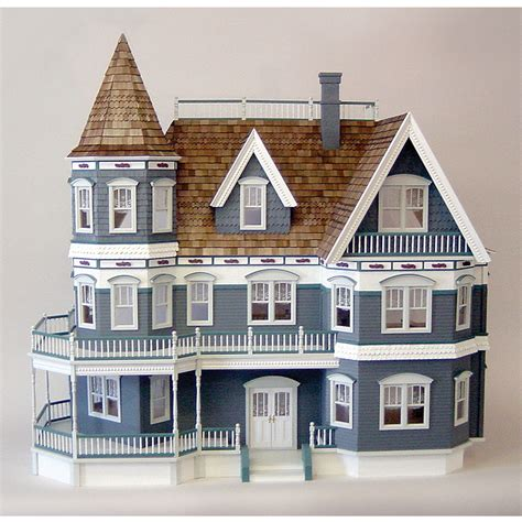 realistic doll houses the queen anne real good toys dollhouse diy kit free shipping discount doll house