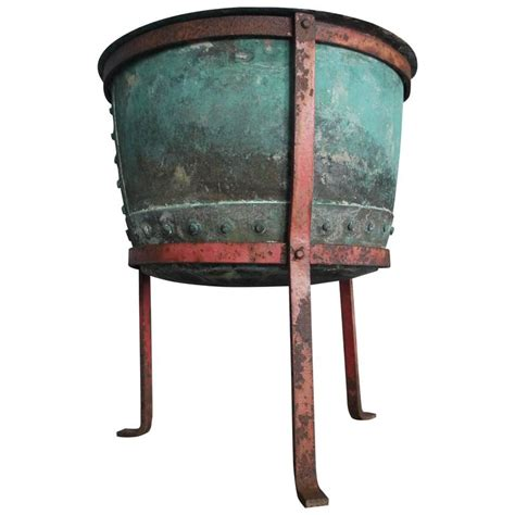Urn Planters On Sale by 19th Century Copper Urn Planter On Stand For Sale At 1stdibs