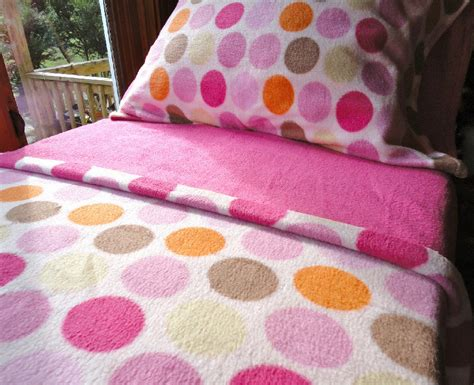Handmade Toddler Beds - pink fleece bed set toddler crib size handmade bedding