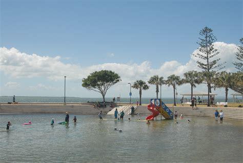 Kids Backyard Playground Wynnum Beach And Wading Pool Brisbane