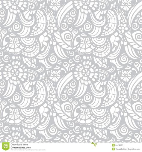 pattern fabric vector lace vector fabric seamless pattern stock vector image