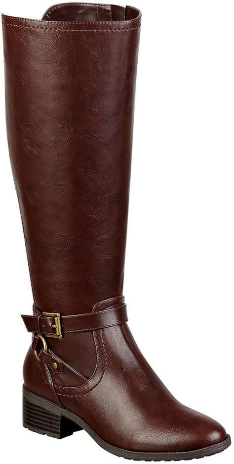 liz claiborne boots liz claiborne gabrey womens wide calf boots