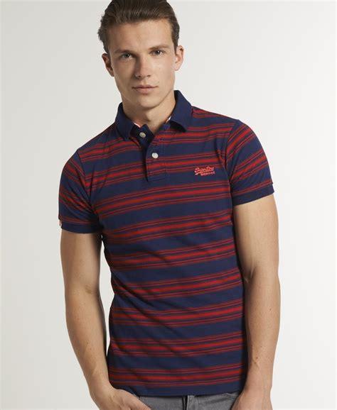 nevada nvd stripes polo shirt navy new mens superdry americas polo t shirt nevada stripe navy