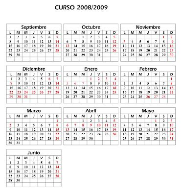 Calendario Agosto 2008 El Bolet 237 N Ceip San Francisco Calendario Escolar 2008