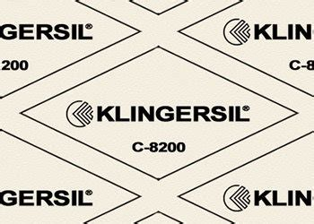 Klingersil Gasket C8200 compressed synthetic fibre specialised engineering