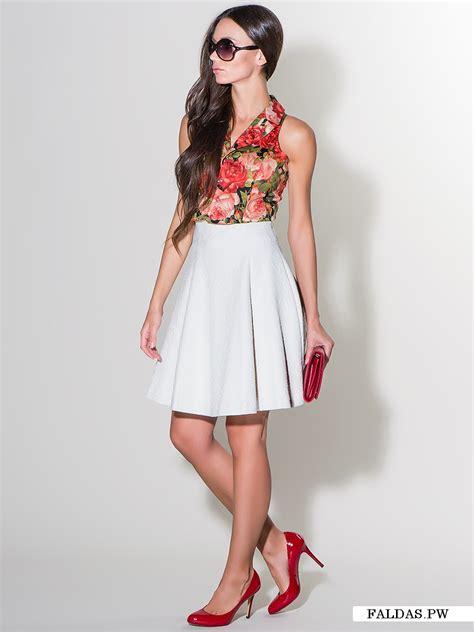 imagenes faldas blancas faldas blancas 161 20 fant 225 sticos modelos faldas moda