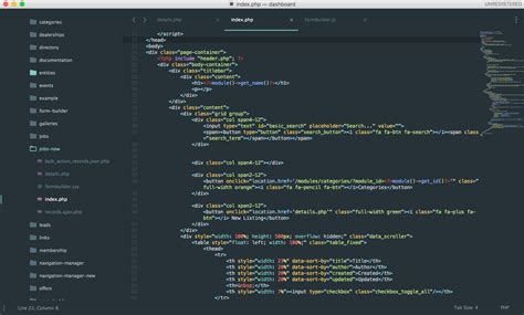 html div syntax sublime 3 editor syntax highlighting php html not