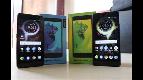 Lenovo K8 Plus lenovo k8 plus vs lenovo k8 note comparison specs