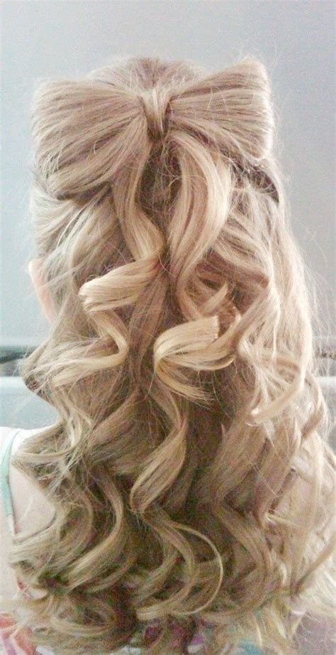 hairstyles cute bow 17 fancy prom hairstyles for girls pretty designs