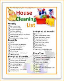 10 house cleaning schedule template bibliography format