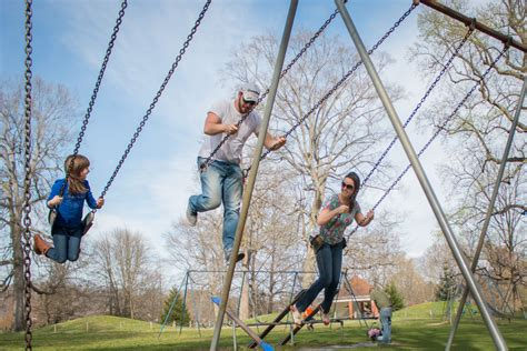 central park swings parks staff stretches far to keep recreation going news