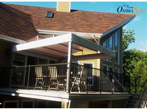 Pergola With Retractable Awning by Ombrasole Awnings Retractable Pergola