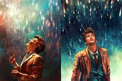 doctor who zhang s doctor who artwork is seriously out of this