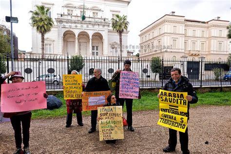 consolato qatar roma attilio folliero rete no war manifesta a roma contro l