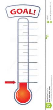 thermometer template for fundraising fundraising goal thermometer clip
