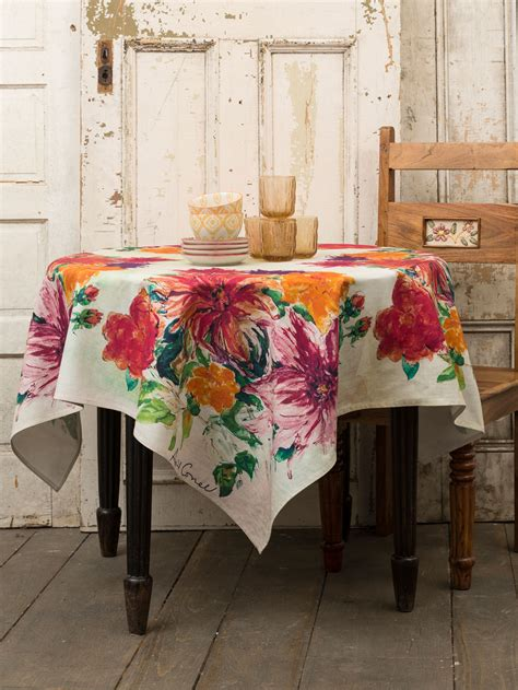 kitchen table linens mums tablecloth linens kitchen tablecloths beautiful