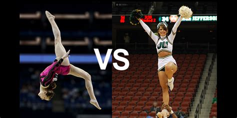 Or Gymnastics Gymnastics And Cheerleading What Is The Difference