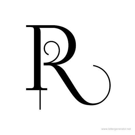 5 best images of free printable letter r printable