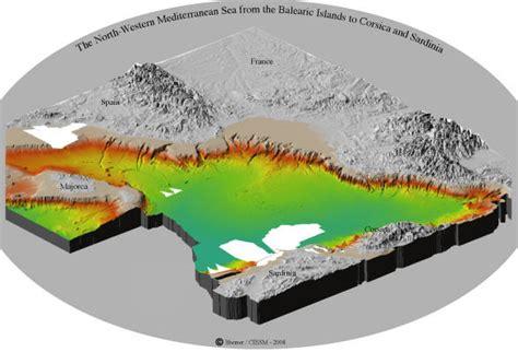 sea floor sunday 41 bathymetric map of mediterranean sea