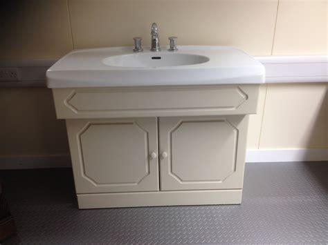 Second Sink by Second Vanity Unit Complete With Selles Sink Wash