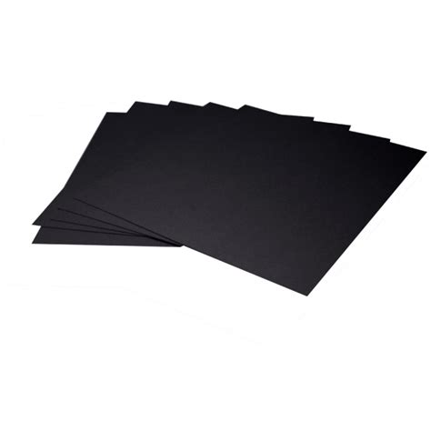 Black Mat Board by Arista Mat Board 11x14 4 Ply Black Both Sides With Black