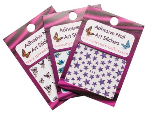 Nail Stickers Letters