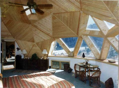 Geodesic Dome Home Interior | geodesic domes out of the past and into the future