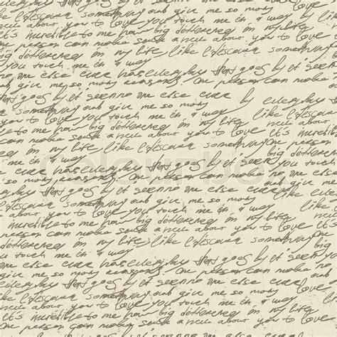 pattern report writing abstract handwriting on old vintage paper seamless pattern