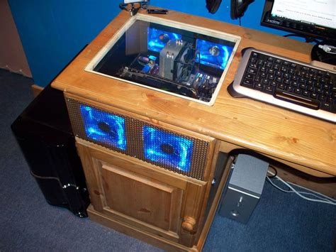 Gaming Computer Desk by Desk Pc Mod Insanely Sick Electronics Gaming