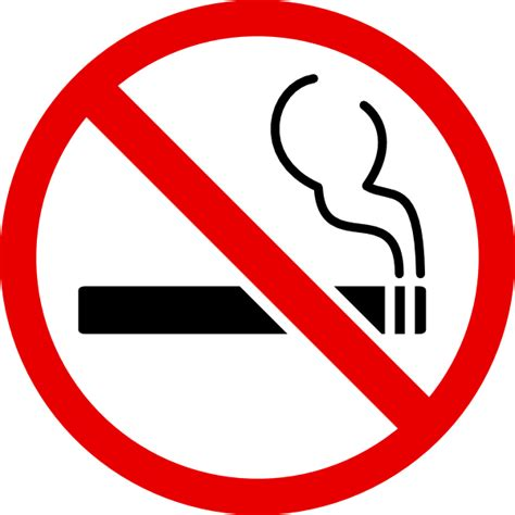 no smoking sign vector png no smoking clip art at clker com vector clip art online