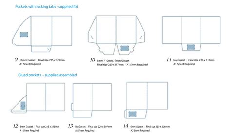 Presentation Folders Printing Edge Creative Sydney A4 Presentation Folder Template