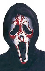 ghost face bleeding mask bleeding ghost face scream mask halloween costume masks