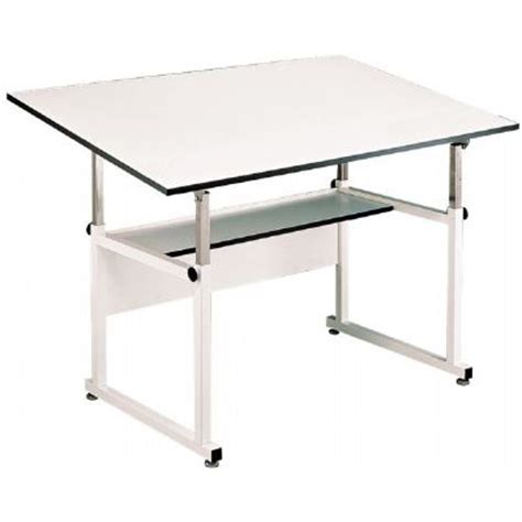 Table White Base White Top 36 Quot X 48 Quot Alvin Company Alvin Workmaster Drafting Table