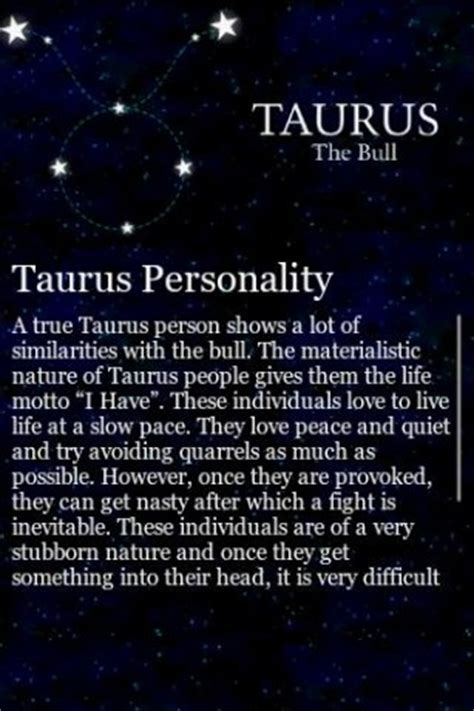 taurus traits app for android