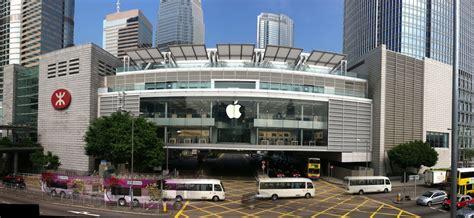 apple hongkong curtains come off early at flagship hong kong apple store