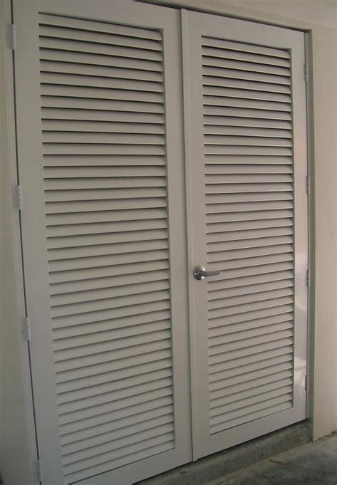 Louvered Exterior Doors Miami Fabricators Inc Doors And Gates